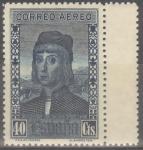 Stamps : Europe : Spain :  ESPAÑA 554 DESCUBRIMIENTO DE AMERICA. CORREO PARA EUROPA