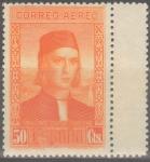Sellos de Europa - España -  ESPAÑA 555 DESCUBRIMIENTO DE AMERICA. CORREO PARA EUROPA