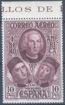 Sellos de Europa - España -  ESPAÑA 565 DESCUBRIMIENTO DE AMERICA. CORREO PARA AMERICA