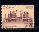 Sellos del Mundo : Asia : Sri_Lanka : Ruinas de Madirigiriya