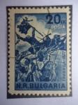 Stamps : Europe : Bulgaria :  Acontecimiento 1877