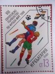 Stamps : Europe : Bulgaria :  Futbol -1988
