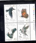 Sellos de America - Canadá -  Especies migratorias Canadá-México