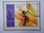 Sellos de Europa - Polonia -  Juegos Olimpicos de mexico 1968 - Atletismo