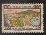 Stamps Honduras -  Plan Quinquenal