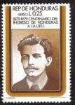 Stamps Honduras -  Centenario del Ingreso de Honduras a La U.P.U
