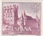 Stamps Spain -  Alcazar de Segovia  (5)