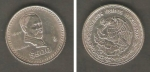monedas de America - México -  Francisco I. Madero y Escudo Nacional