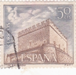 Stamps : Europe : Spain :  Castillo de Balsareny -Barcelona-  (5)