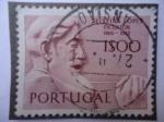 Sellos de Europa - Portugal -  Antonio Teixeira Lopes (1865-1942) - Esculto - Serie:Portugueses Escultores.