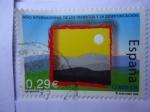 Stamps Spain -  Año Internacional  de los Desiertos y la Desertificación.