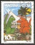 Stamps Hungary -  AÑO  INTERNACIONAL  DE  LA  LITERATURA