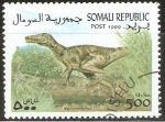 Stamps Somalia -  ÀNIMALES  PREHISTÒRICOS.  VELOCIRAPTOR.