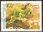 Stamps Somalia -  CHAMAELEO  GRACILIS