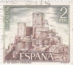 Stamps : Europe : Spain :  Castillo de Santa Catalina -Jaén-  (5)