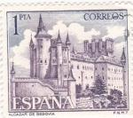 Sellos de Europa - España -  Turismo- Alcázar de Segovia    (5)