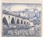 Sellos de Europa - España -  Turismo- Vista de Zamora   (5)