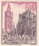 Stamps Spain -  Turismo- Catedral de Sevilla-    (5)