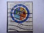Sellos de Europa - Alemania -  400 jahre Gregorianischer Kalender
