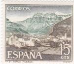 Stamps Spain -  Turismo- Vista de Torla -Huesca-   (5)