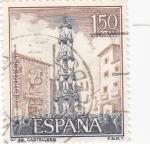 Stamps : Europe : Spain :  Turismo- Castellers -Catalunya-   (5)