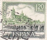 Sellos de Europa - España -  Turismo- Vista general de Salamanca    (5)