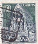 Stamps Spain -  Turismo- Iglesia de San Vicente -Avila-   (5)