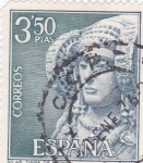 Sellos del Mundo : Europa : España : Turismo- La Dama de Elche -Alicante-    (5)