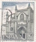 Stamps Spain -  Turismo- Iglesia de Santa María de la Asunción- Lequeitio-   (5)