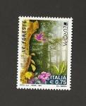 Sellos de Europa - Italia -  Bosques