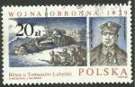 Stamps Poland -  2967 - General Antoni Szylling, batalla de tanques