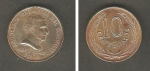 monedas de America - Uruguay -  General Artigas