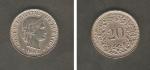 monedas del Mundo : Europa : Suiza :  Confederación Helvética y Ramas de parra