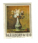 Stamps : America : Paraguay :  J.S. Chardin