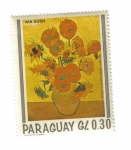 Stamps Paraguay -  Van Gogh