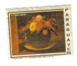 Stamps Paraguay -  A.Fontanesi