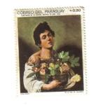 Stamps : America : Paraguay :  Caravaggio