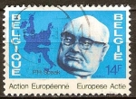 Sellos del Mundo : Europa : Bélgica : Paul Henri Spaak (el primer ministro belga)