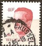 Sellos del Mundo : Europa : Bélgica : Rey Balduino.