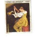 Sellos de America - Paraguay -  Crazio Gentileschi