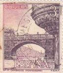 Sellos de Europa - España -  Turismo- Pazo de Fefinanes- Cambados-Pontevedra   (5)