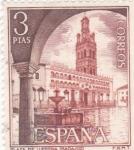 Sellos del Mundo : Europa : España : Turismo- Plaza de LLerena -Badajoz-    (5)