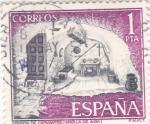 Stamps Spain -  Turismo- Prisión de Cervantes -Argamasilla de Alba -Ciudad Real-    (5)
