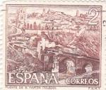 Stamps Spain -  Turismo- Puente de San Martín -Toledo-  (5)