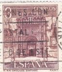 Sellos de Europa - España -  Turismo- Hostal de los Reyes Católicos -santiago de Compostela-   (5)