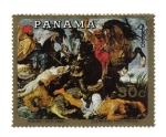Sellos de America - Panamá -  Rubens