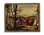 Stamps : America : Panama :  Ancien