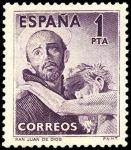 Sellos de Europa - España -  España segundoo centenario Nº 1070 ** San Juan de Dios