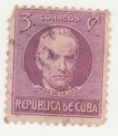Stamps : America : Cuba :  José De La Luz