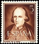 Sellos de Europa - España -  España Segundo Centenario nº 1071 5c Castaño Literatos
